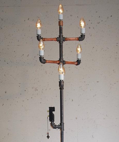 Renaissance Style Candelabra Floor Lamp