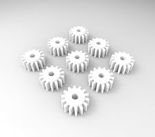 Planetary Gears for Autohelm 4000 Wheel Pilot Gear Box Drive Assembly