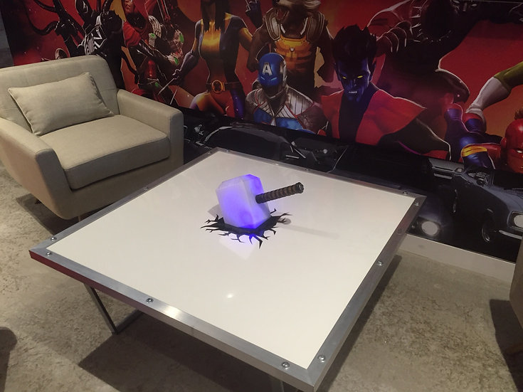 Thor Hammer Table