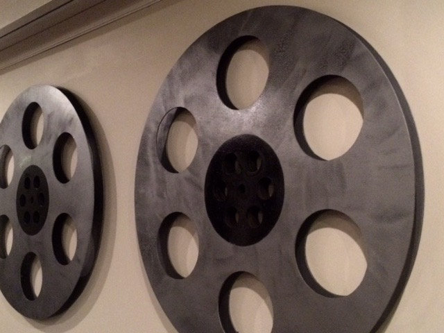 Giant Movie Reel Wall Hanging