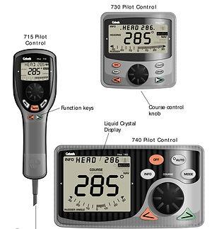 autopilot remote control cetrek 715 730 740