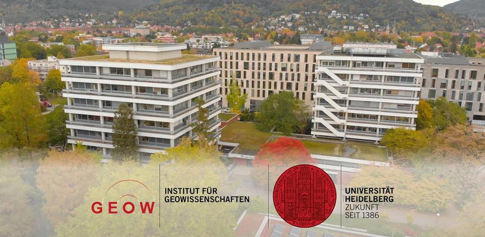 Studium der Geowissenschaften, Universität Heidelberg
