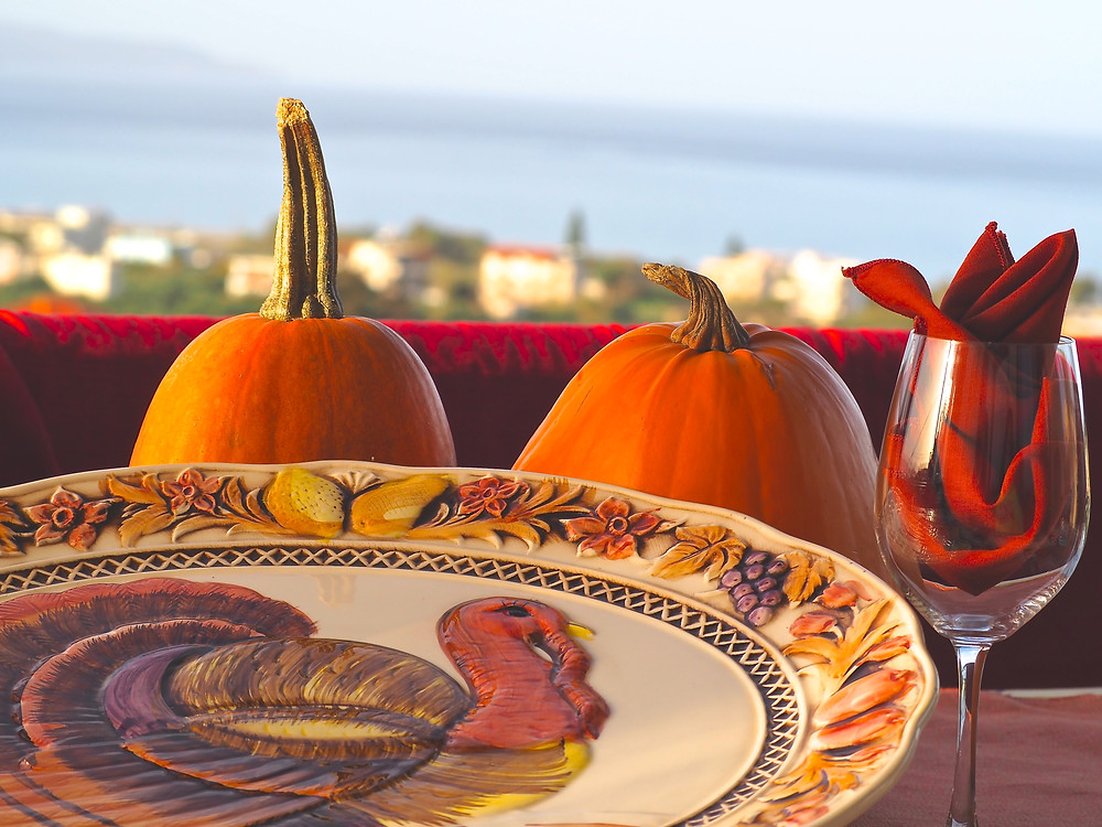 Chania Wine Tours: Thanksgiving Table