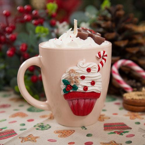 Gingerbread Cupcake Hot Cocoa