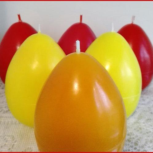 Великденско яйце - едноцветно, голямо