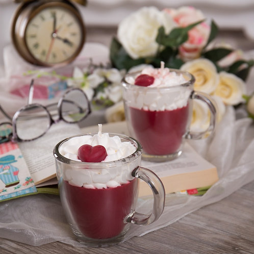Lovely Vanilla&Cherry Hot Cocoa