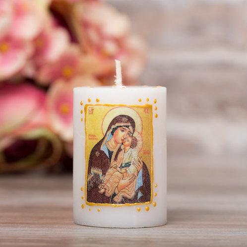 """Свещ-икона """"Св. Богородица Мати Молебница"""""""