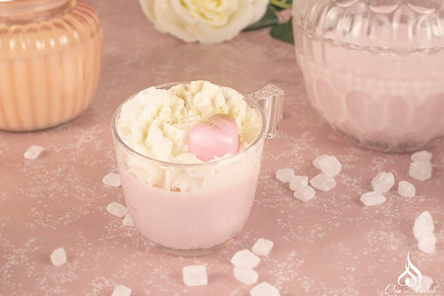 Anna's strawberry mousse cup