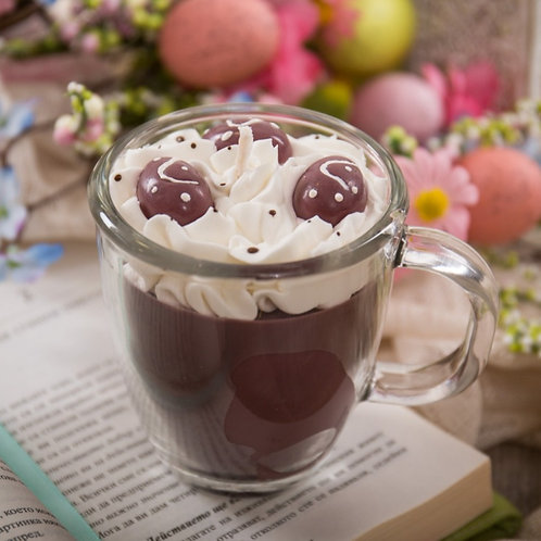 Easter Egg Crispy Marshmallow Hot Cocoa