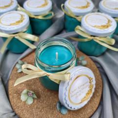 Свещ-подарък за гости за кръщене