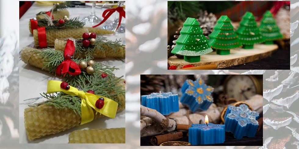 Пловдив - Коледни свещи