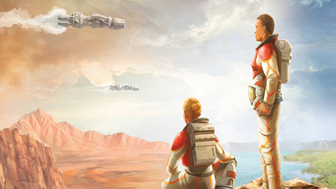 Artwork from the Terraforming Mars Ares Expedition game
