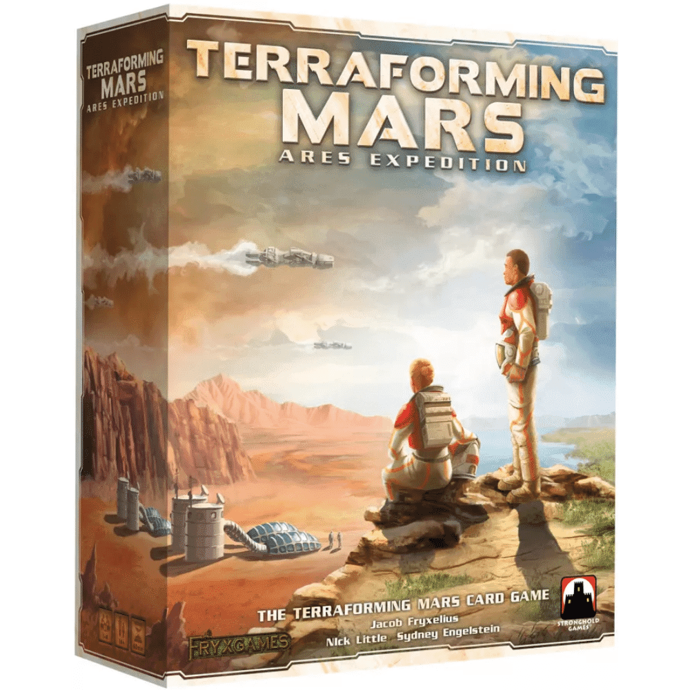 The Terraforming Mars Ares Expedition game box
