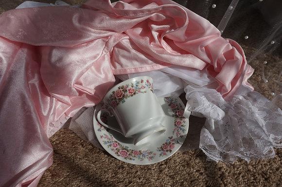 Princess Floral Teacup & Saucer Set
