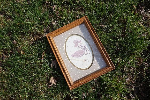 """""""Mother Duck"""" Cottage Frame"""
