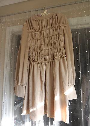 PLT Blush Nude Dress (size: 10)