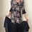 Thumbnail: Black Cottage Floral Dress (small)