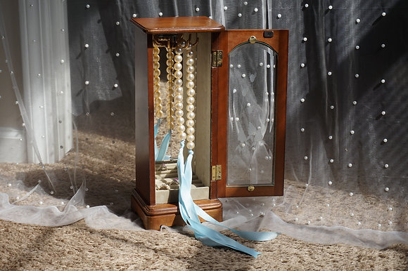 Royal Princess Wooden Jewelry Box