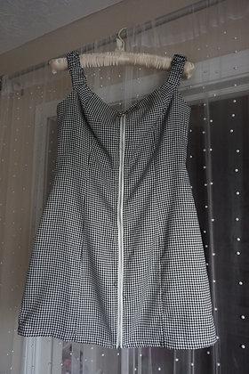 Off the Shoulder Herringbone Dress (small fits like a medium)