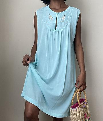 Elsa Blue Chemise Gown (m/l)