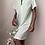Thumbnail: Tiana Green Satin Nightgown (s/m)