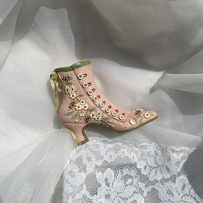 Vintage Edwardian Shoe Ornament