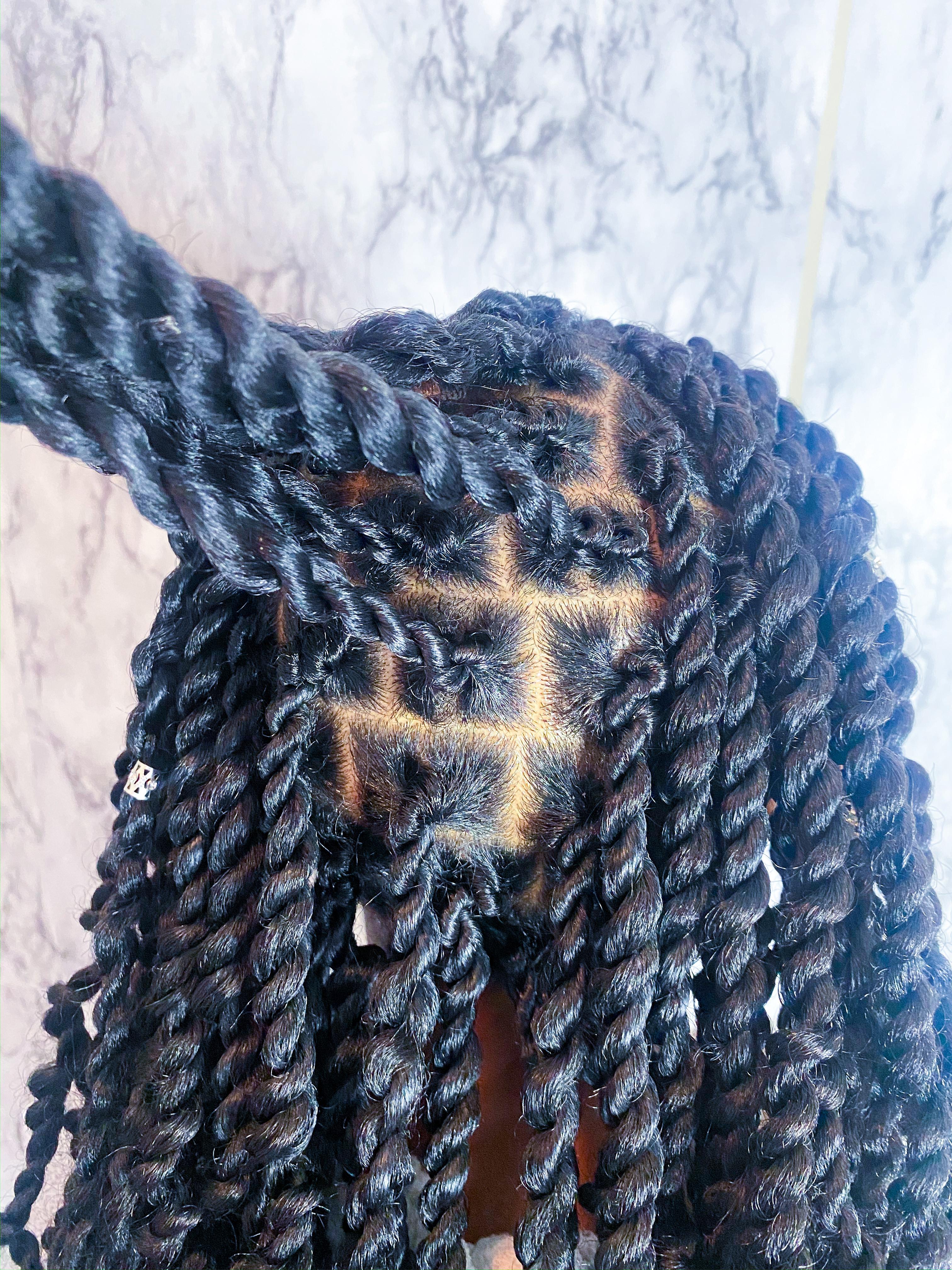 Full Head Passion Twists Maintenance