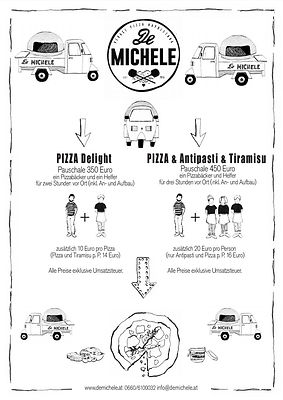 De Michele Pizza Ape Preise Kontakt