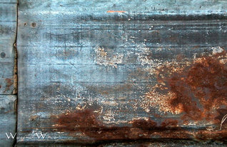 52week challenge_Texture_4_Siding Rusted