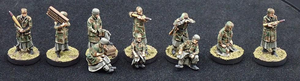 20 Winter Fallschirmjager Flak 88 Crew 1