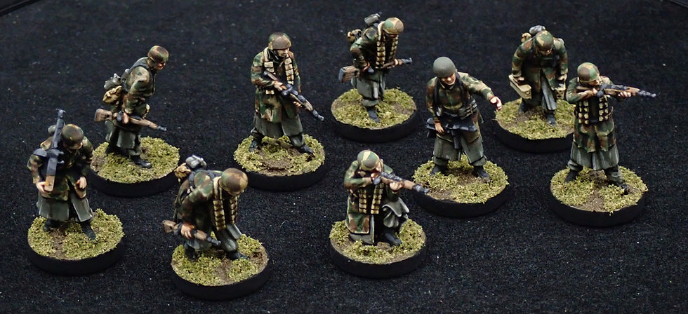 20 Winter Fallschirmjager Squad 1
