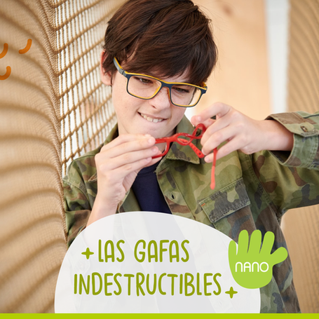 #NANO La marca de monturas INDESTRUCTIBLES para niños ahora en Colombia!!!