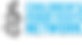 CHRN Logo blue text black candle.png