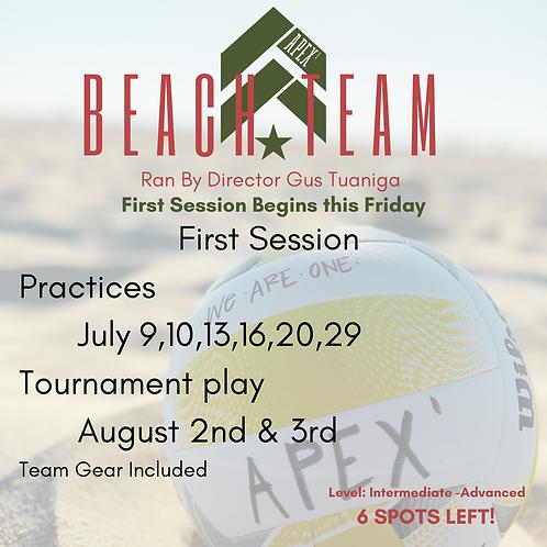 Beach Team: Per Session