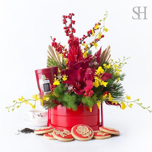 新年禮花 -紅色