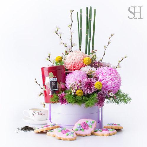 新年禮花 -粉紅色