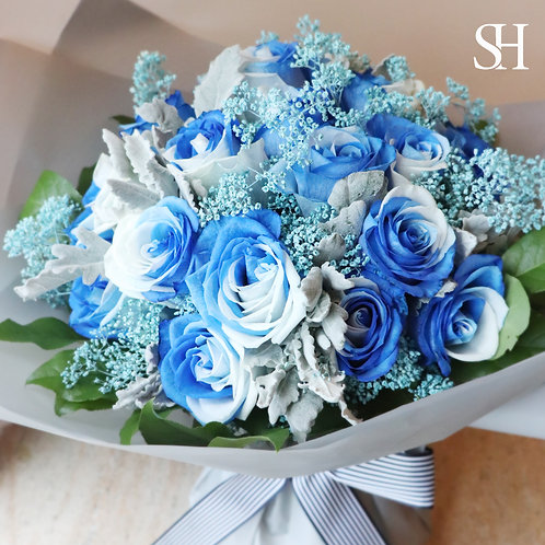 Special Blue w White