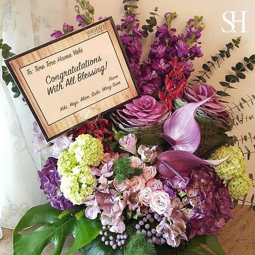 Opening Hamper - Table Flower