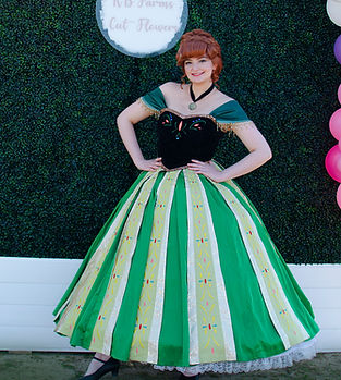 Anna Ana Frozen Disney birthday party ideas destin Pensacola Florida character entertainment baby shower business corporate event entertainment venue location ideas