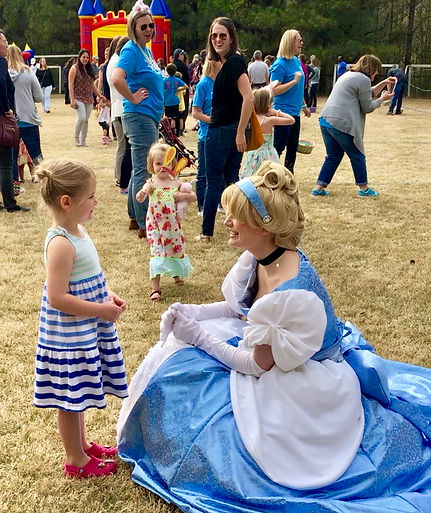 Cinderella Princess Party Review Alpharetta Georgia Character Rental
