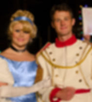 Cnderella and Prince Charming Princess Atlanta Party
