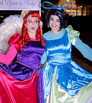 Cinderella's Step Sisters anastasia and drizella tremaine evil villian business event party entertainment