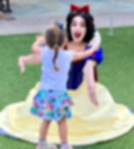 Snow White Princess business event party