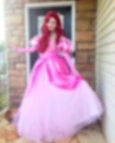 Ariel Little Mermaid Princess Birthday Party