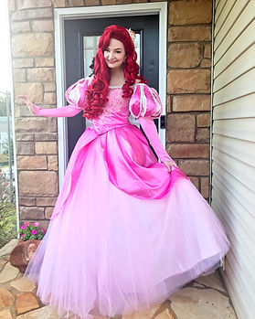 Ariel Little Mermaid Princess Birthday Party character