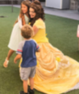 Belle Beauty and the Beast Princess Prince Party Fairhope Alabama