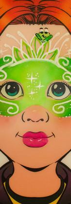 Frog Princess Mask