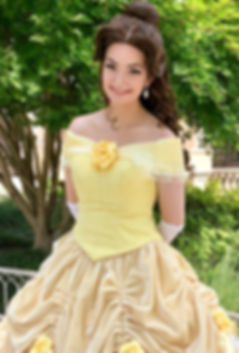 Belle Beauty and the Beast Princess Birthday Party Character Rental Penscola Florida