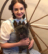 Dorothy Wizard of Oz characters toto party entertainment fairhope alabama