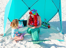 Little Mermaid on Beach